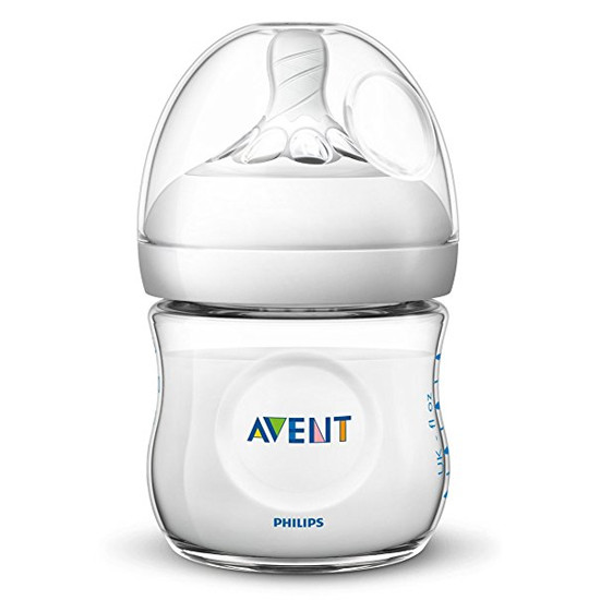 Philips Avent Natural Baby Bottle (0m+) - 4 oz