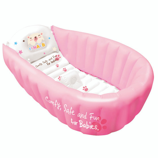 Nai-B Hamster Inflatable Baby Bathtub - Pink
