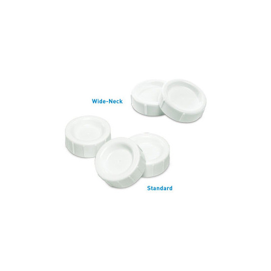 Dr. Brown Storage / Travel Caps Wide Neck 2pk