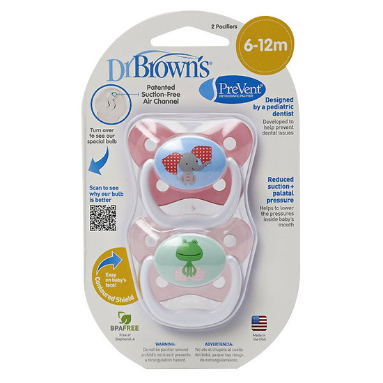 Dr. Brown PreVent Butterfly Pacifier - Stage 2