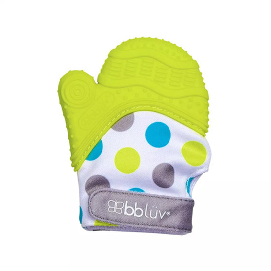 BBLuv Gluv Teething Mitten - Lime