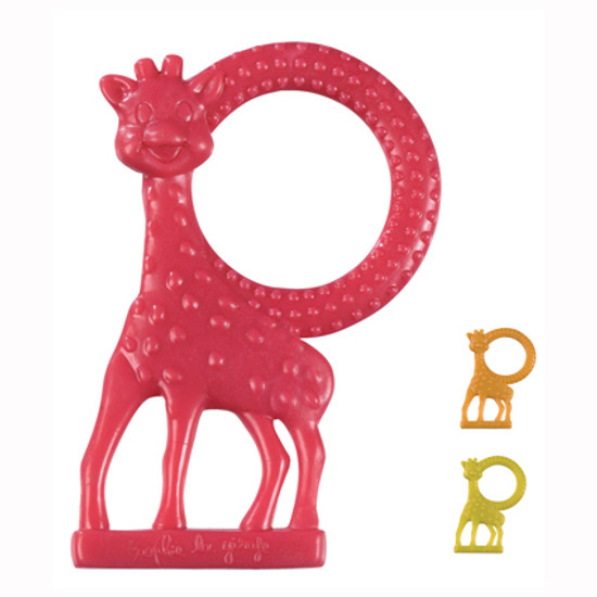 Calisson Inc Sophie Giraffe Vanilla Teether