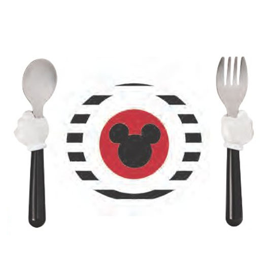 The First Years Mickey Mouse 3-Piece Feeding Set-1