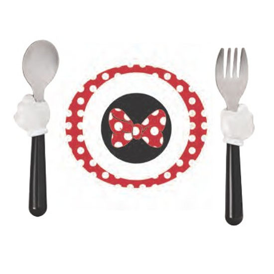The First Years Minnie Mouse 3-Piece Feeding Set-2
