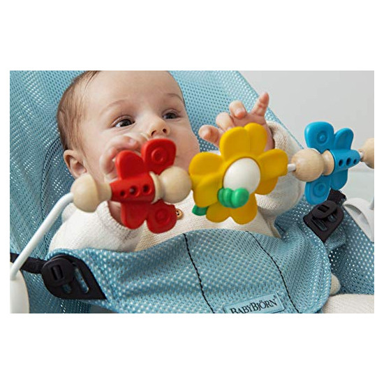 Baby Bjorn Toy for Bouncer in Flying Friends lifestyle close up