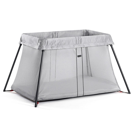 Baby Bjorn Travel Crib Light in Silver Product