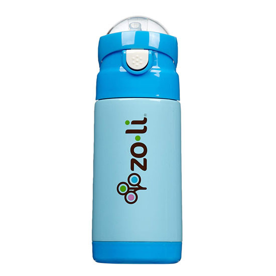 Zoli Inc. D.LITE Insulated Straw Bottle 10 oz - Blue