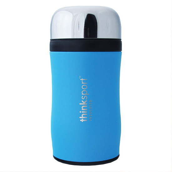 ThinkBaby ThinkSport GO4TH - 17oz - 500ml - Coated Light Blue