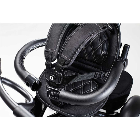 Bentley Trike 6-in-1 Baby Stroller/Kids Tricycle 5 point harness