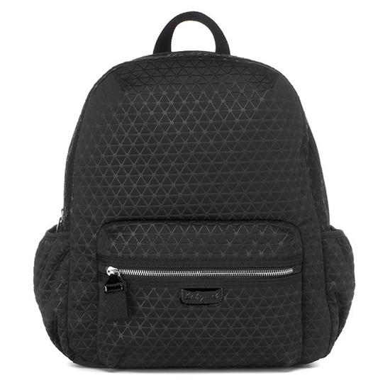 Babymel Luna Ultra Lite Scuba Diaper Backpack - Black Product Photo