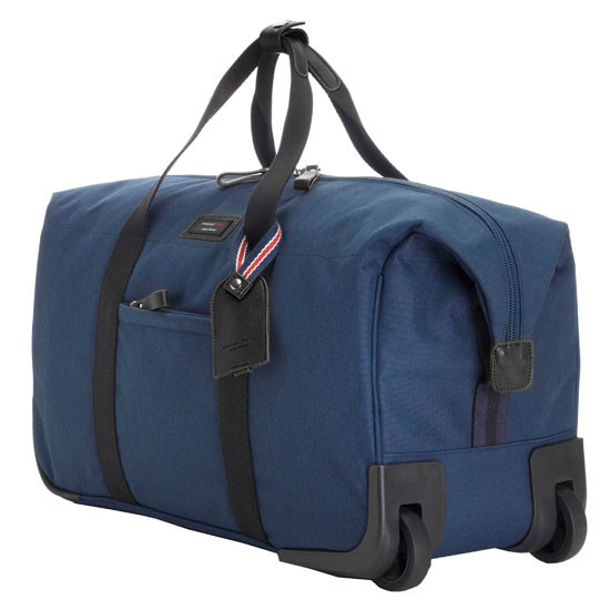 Storksak Travel Collection Cabin Carry On - Navy with Wheels