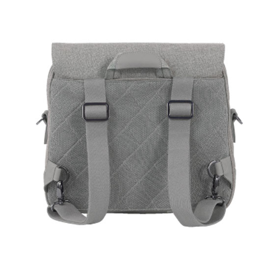 Nuna Diaper Bag - Frost features a Backpack design