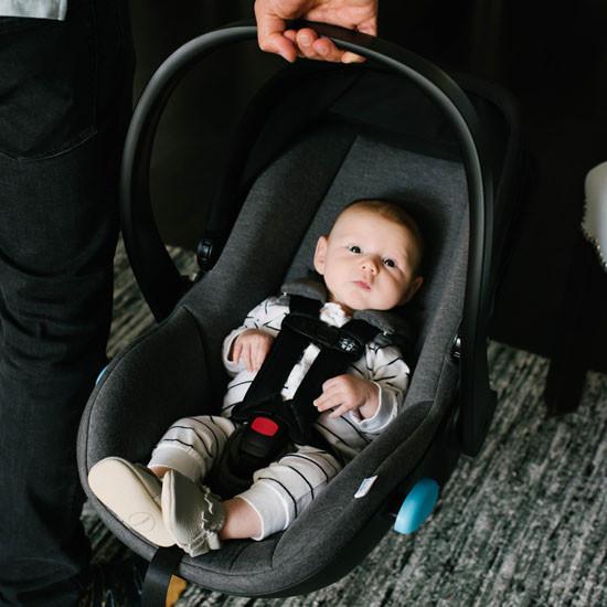 Clek Liing Infant Car Seat - Slate is light and sturdy