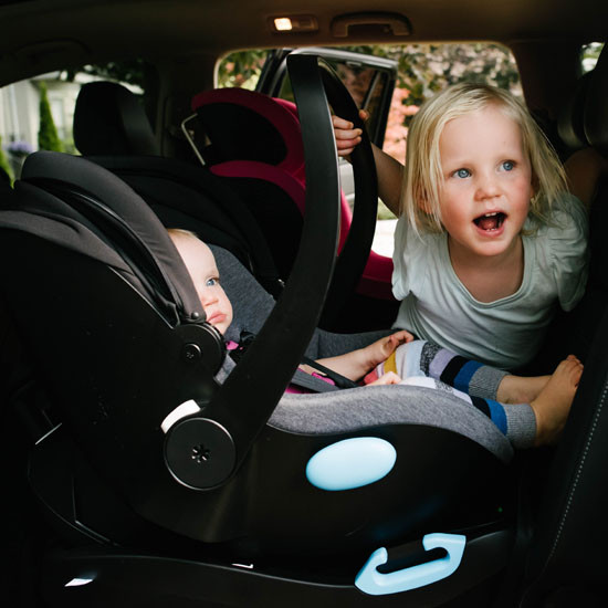 Clek Liing Infant Car Seat - Slate includes a car set base for all adventures