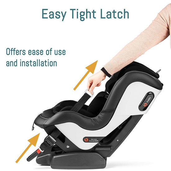 Peg Perego Primo Viaggio Kinetic Convertible - Licorice Easy Tight Latch
