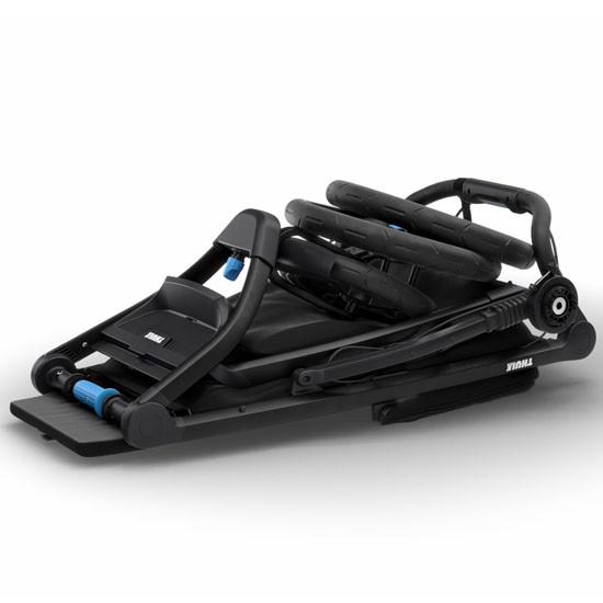 Thule Urban Glide 2 Single Jogging All-Terrain Stroller - Black Easy Fold