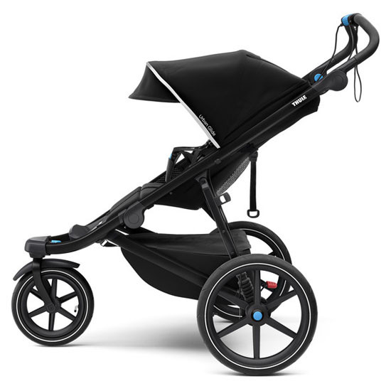 Thule Urban Glide 2 Single Jogging All-Terrain Stroller - Black Side