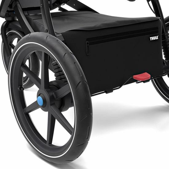 Thule Urban Glide 2 Single Stroller - Black All-Terrain Wheels