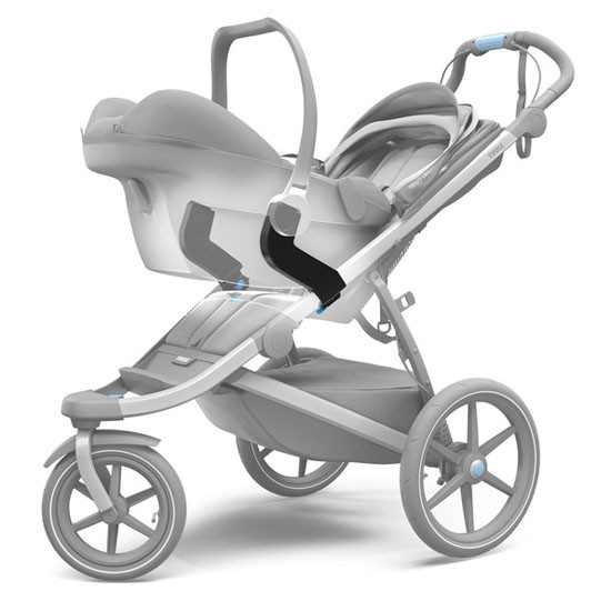 Thule Urban Glide Car Seat Adapter for Maxi-Cosi Single Stroller