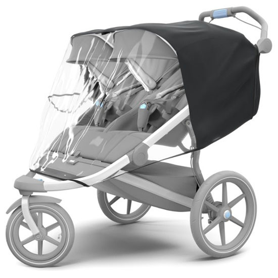 Thule Urban Glide Rain Cover for Double Stroller