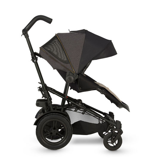 Micralite TwoFold Stroller - Carbon with 2nd Recline Position