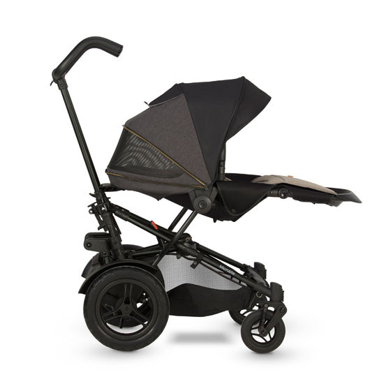 Micralite TwoFold Stroller - Carbon with 3rd Recline Position