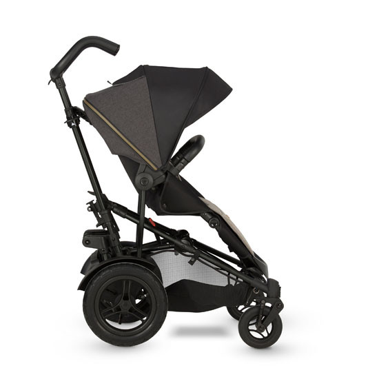 Micralite TwoFold Stroller - Carbon with 1st Recline Position