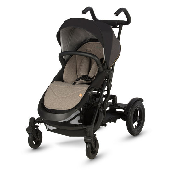 Micralite TwoFold Stroller - Carbon Front with  Ride Board