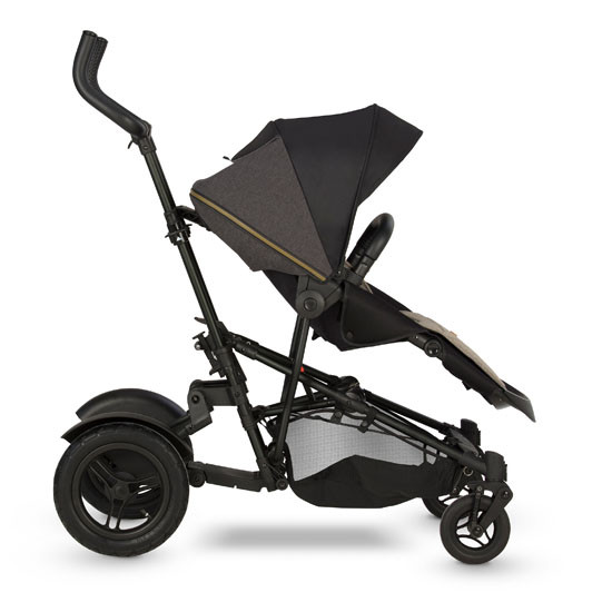 Micralite TwoFold Stroller - Carbon Front with Ride Board and recline