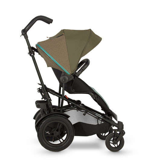 Micralite TwoFold Stroller - Evergreen with first recline position