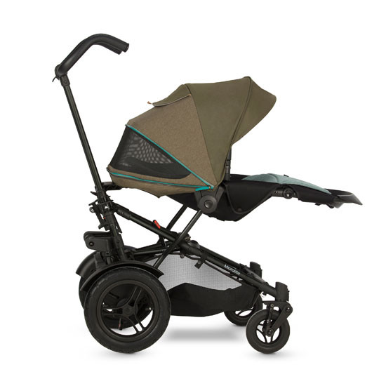 Micralite TwoFold Stroller - Evergreen with third recline position