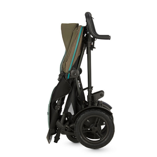 Micralite TwoFold Stroller - Evergreen with easy compact fold