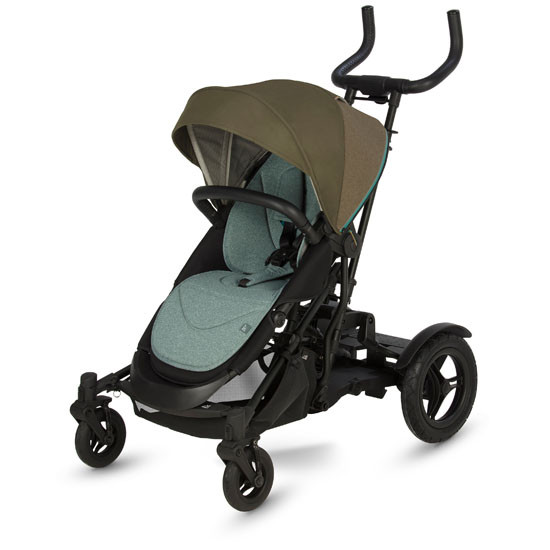 Micralite TwoFold Stroller - Evergreen with kid board