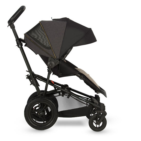 Micralite SmartFold Stroller - Carbon with first position