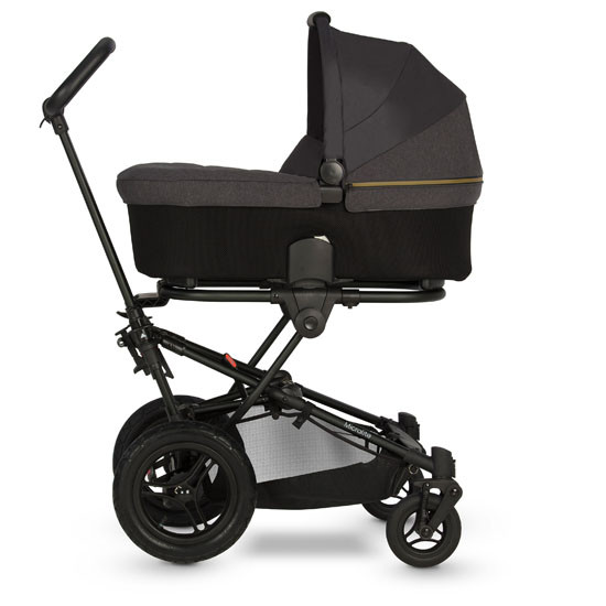 Micralite SmartFold Stroller - Carbon with bassinet