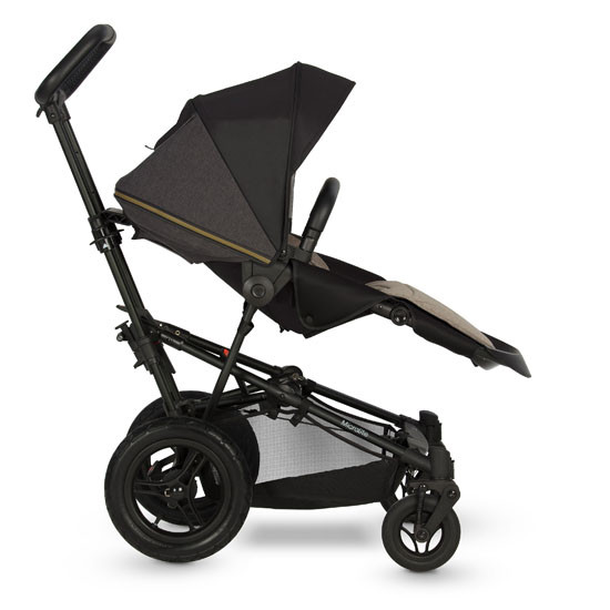Micralite SmartFold Stroller - Carbon with second position
