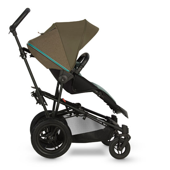 Micralite SmartFold Stroller - Evergreen with first recline position