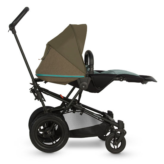 Micralite SmartFold Stroller - Evergreen with third recline position