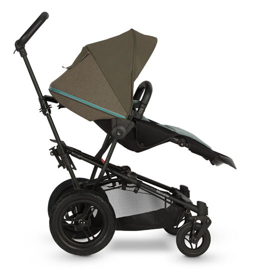 Micralite SmartFold Stroller - Evergreen with second recline position