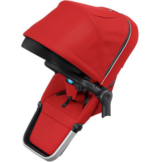 Thule Sleek Sibling Seat - Neon Red