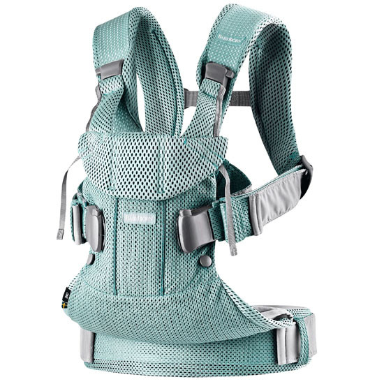 2018 Baby Bjorn Baby Carrier One Air - Frost Green