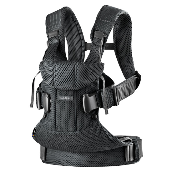 2018 Baby Bjorn Baby Carrier One Air - Black