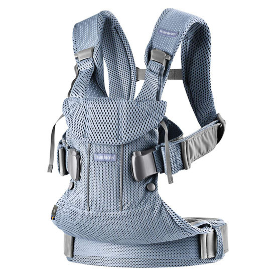 2018 Baby Bjorn Baby Carrier One Air - Slate Blue Mesh