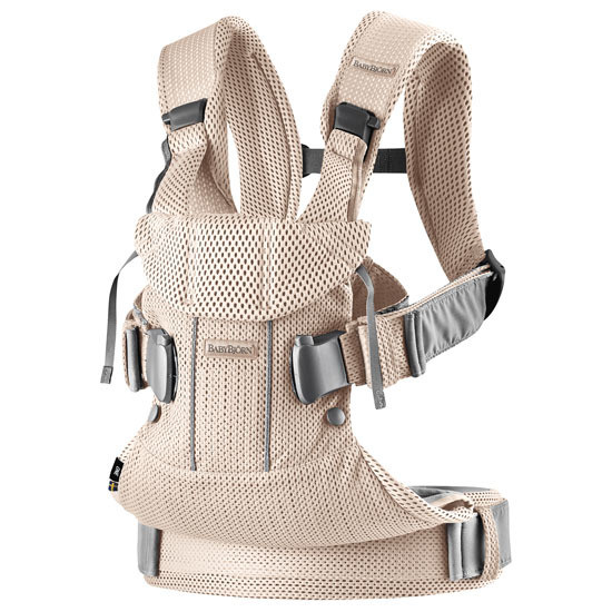 2018 Baby Bjorn Baby Carrier One Air - Pearly Pink Mesh