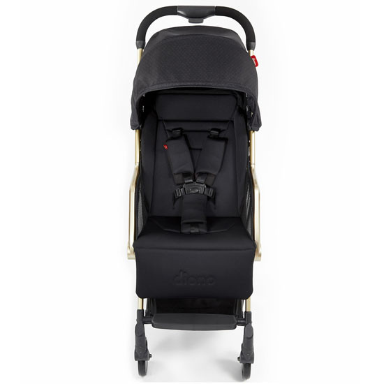 Diono Traverze Luxe Lightweight Platinum Edition Stroller - Black Cube