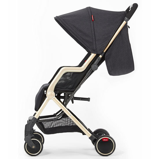 Diono Traverze Luxe Lightweight Platinum Edition Stroller - Black Cube_thumb2