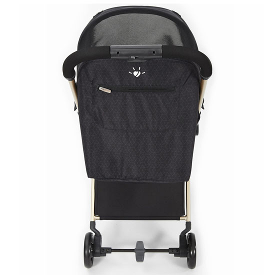 Diono Traverze Luxe Lightweight Platinum Edition Stroller - Black Cube_thumb4