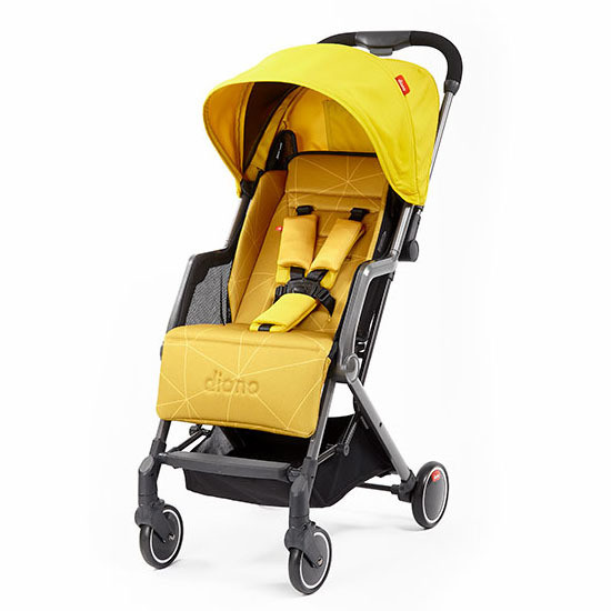 Diono Traverze Lightweight Editions Stroller Yellow Sulfur