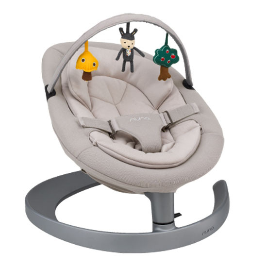 Nuna Leaf Grow Bouncer - Iron Grey_thumb4
