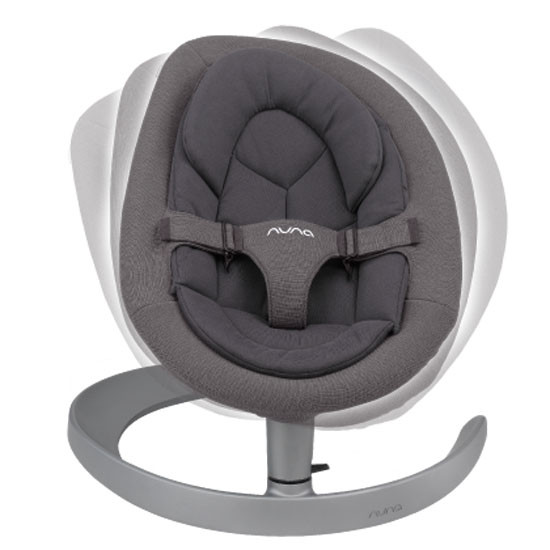 Nuna Leaf Grow Bouncer - Iron Grey_thumb1_thumb2